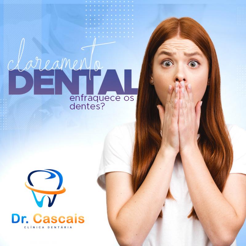 Clareamento dental enfraquece os dentes?